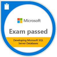 Microsoft Certified Professional Developing Microsoft SQL Server Databases